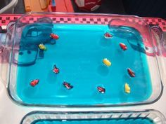 Moses & the Red Sea Jello Snack...from Ministry 2 Kids