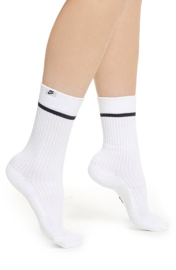 5d1176ee7 New Nike 2-Pack SNKR Sox Essential Crew Socks - Fashion Women Activewear. [