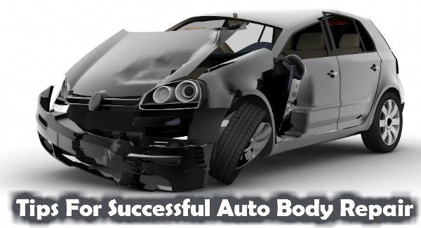 5 Tips For Successful Auto Body Repair In Houston Car