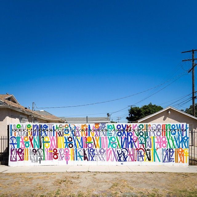 New Mural By In Los Angeles California