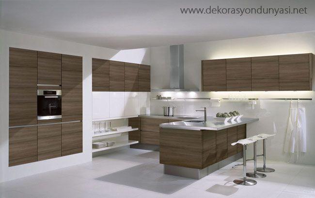 akrilik mutfak dolapları modelleri