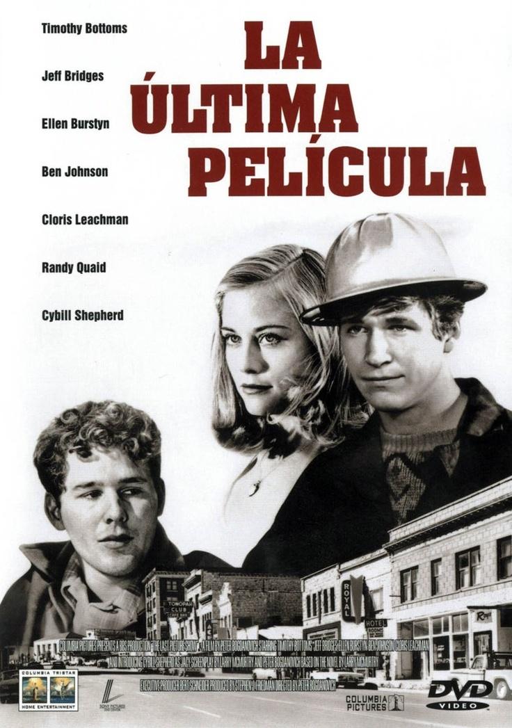 DVD CINE 967 - La última película (1971) EEUU. Dir: Peter Bogdanovich. Adolescencia. Drama. Vida rural. Sinopse: na década dos 50, nunha pequena cidade de Texas, un grupo de rapaces afronta o paso da adolescencia á madurez dentro dunha sociedade represora e cambiante na que o cinema e todo o que representa morre en mans da televisión