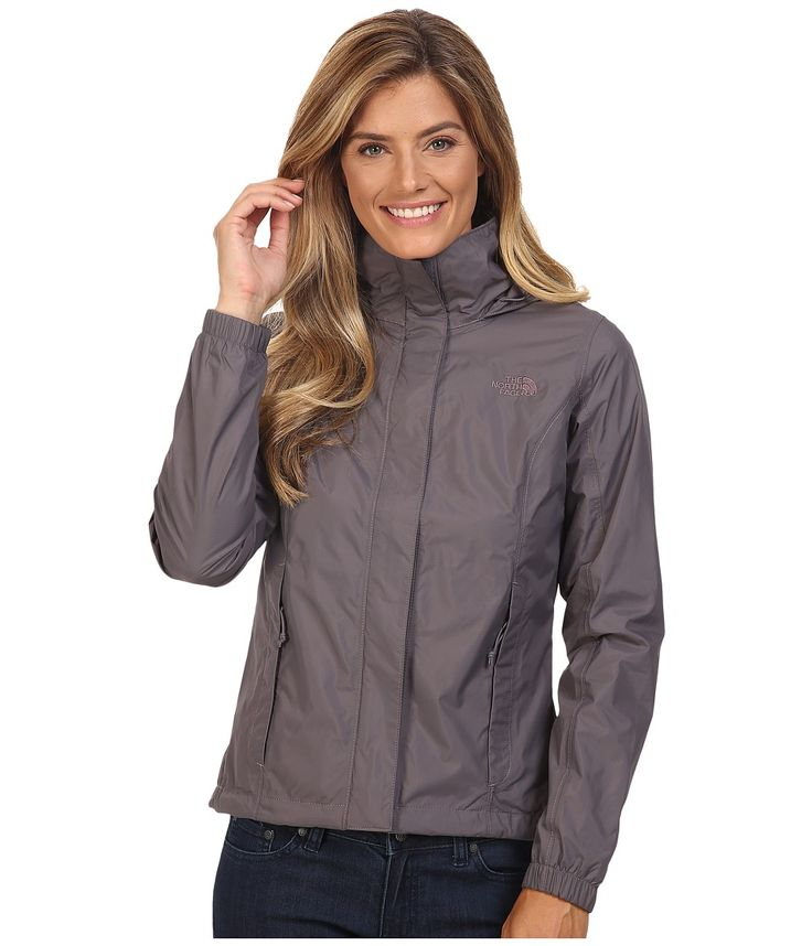 THE NORTH FACE THE NORTH FACE - RESOLVE JACKET (RABBIT GREY) WOMEN'S COAT. #thenorthface #cloth #