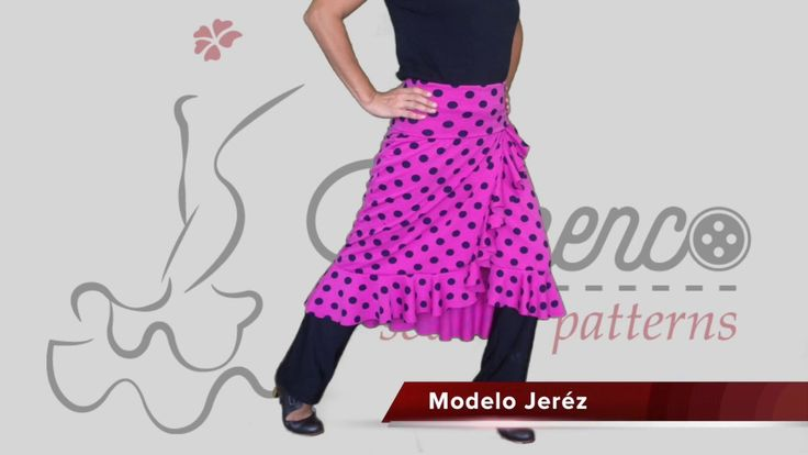Rehearsal Flamenco Skirt. Our november start model, the Jeréz short skirt. You can wear it even to go out at night!!! Get your patterns on http://flamencosewingpatterns.com/producto/falda-modelo-jerez-falda-de-flamenco-corta/