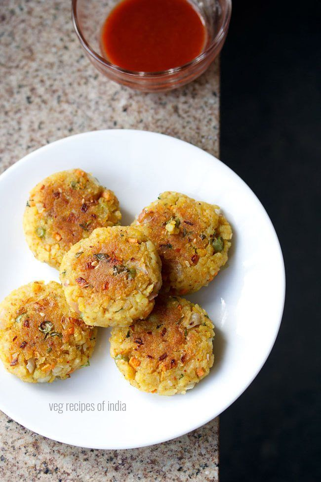 poha cutlet recipe with step by step photos - easy and tasty snack recipe of mix veg poha cutlet recipe.    poha or flattened rice is an ingredient that can be used in many ways. usually i