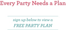 DIY Children's Party Plans (TONS of ideas for all kinds of parties...for adults and children, for the classroom and home.)