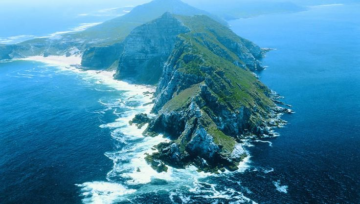 Cape Point, where the Indian Ocean meets the Atlantic