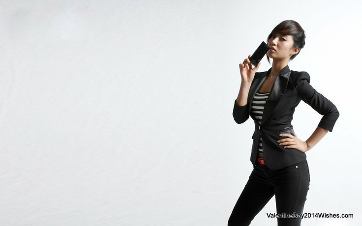 Best Chocolate Day Images Free Download - Hot Asian Babe with Chocolate [ValentineDay2014Wishes.com]