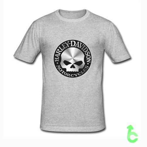 HARLEY DAVIDSON MOTOR CYCLES SKULL LOGO T-Shirt