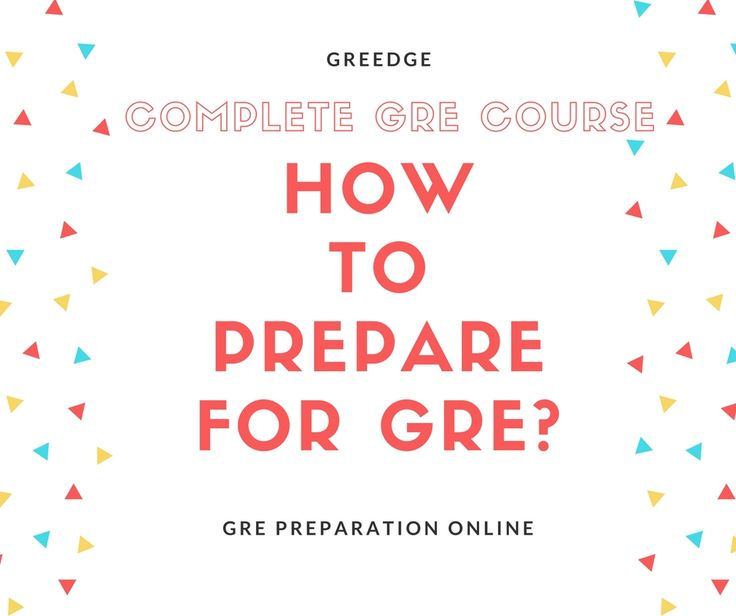 Join Complete GRE Course offered by GREedge and get benefited with Online Classes, Live Seminars, Book materials and various GRE Practice Test resources. To know more about How to Prepare for GRE, visit: https://www.greedge.com/program/How-To-Prepare-for-GRE-with-Complete-GRE-Plus