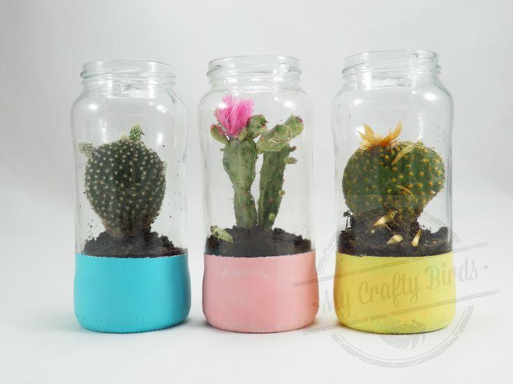 Pinterest the world s catalog of ideas - Frascos de vidrio decorados ...