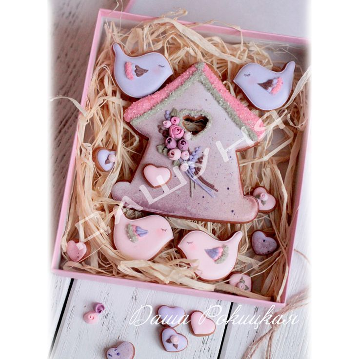 (^o^) C is for Cookie (^o^) ~ birds & birdhouse cookies
