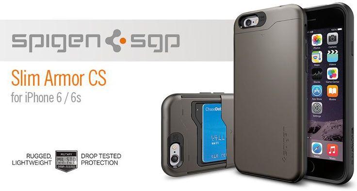 Spigen Slim Armor CS iPhone 6S/6 tok - Smart Clinic