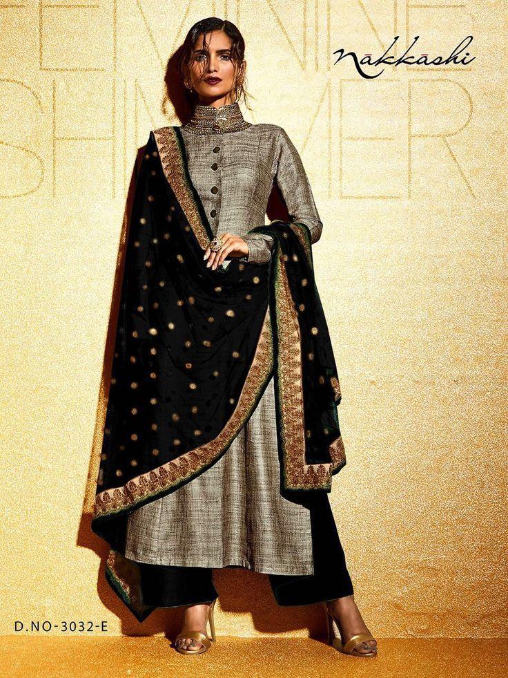 Fabric - silk Bottom santoon  Duppatta chiffon  ☎️8802300456   Rate - 3000/- each