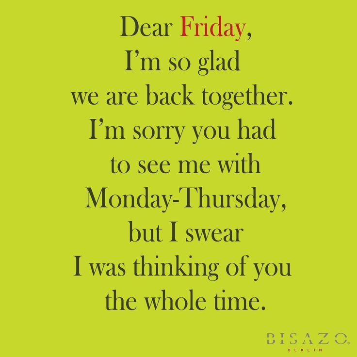 Friday morning!!