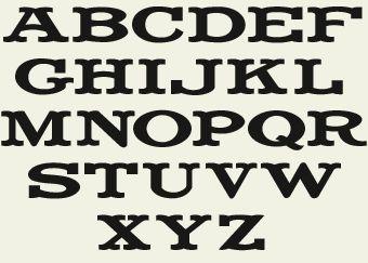 Letterhead Fonts LHF Fancy Full Round Western