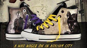 Design Your Own DC Comics x Converse Batman Arkham City Chucks