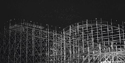 Sutton Park's Crystal Palace & Fair Big Dipper 1962