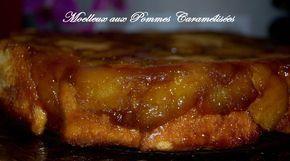 Moelleux fondant aux pommes caramélisées