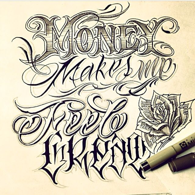 Tattoo Quotes Letter Style: Handwriting From The Designer Of THE V