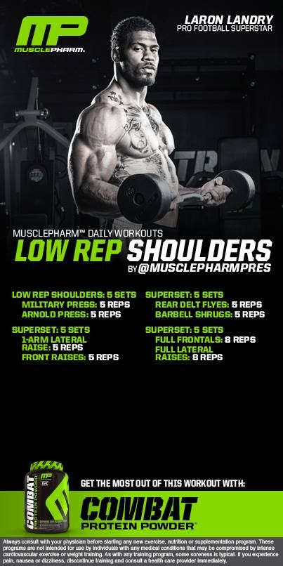 Low Rep Shoulders