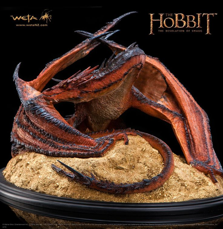 Der Hobbit Smaugs Einöde Statue 1/72 Smaug The Terrible 52 cm #smaug #hobbit #derhobbit #drachesmaug #drache #figur #drachenfigur  Der Hobbit - Figuren Smaug - Hadesflamme - Merchandise - Onlineshop für alles was das (Fan) Herz begehrt!