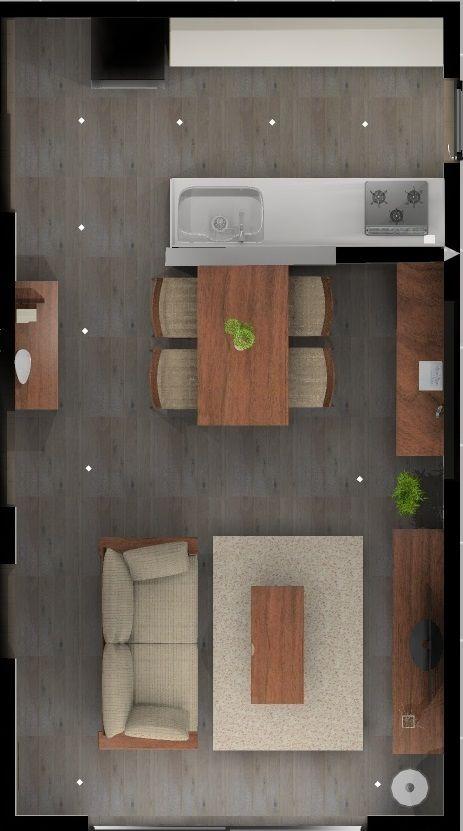 家具の大きさ通路から考える理想の間取り