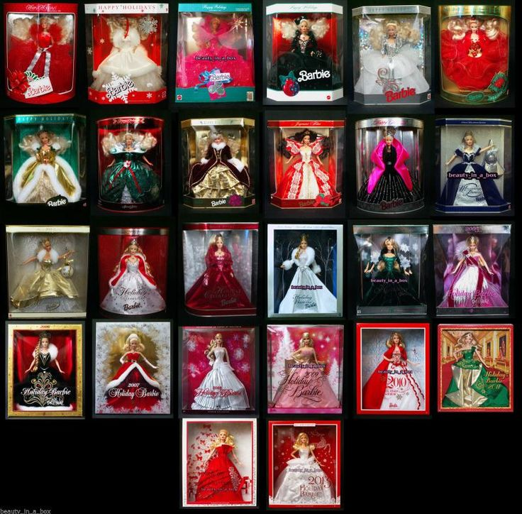 Holiday Barbie Values - What is your Barbie worth?