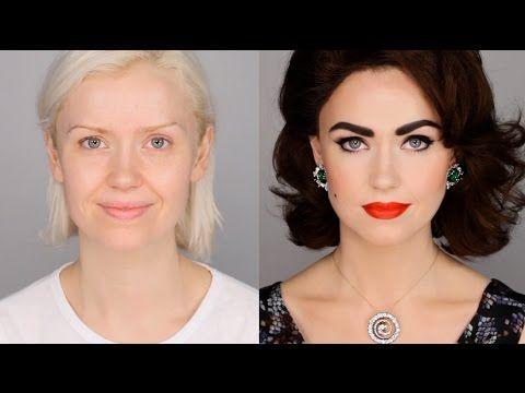 Lisa Eldridge Make Up | Video | Elizabeth Taylor Inspired Makeup Tutorial #FacePaintBook