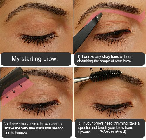 Makeup Tips, Beauty Reviews, Tutorials | Miss Natty's Beauty Diary Blog: Step by Step Eyebrow Filling Tutorial.
