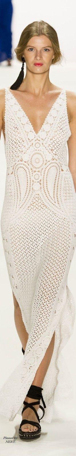 Crochetemoda Blog: Vestidos de Crochet