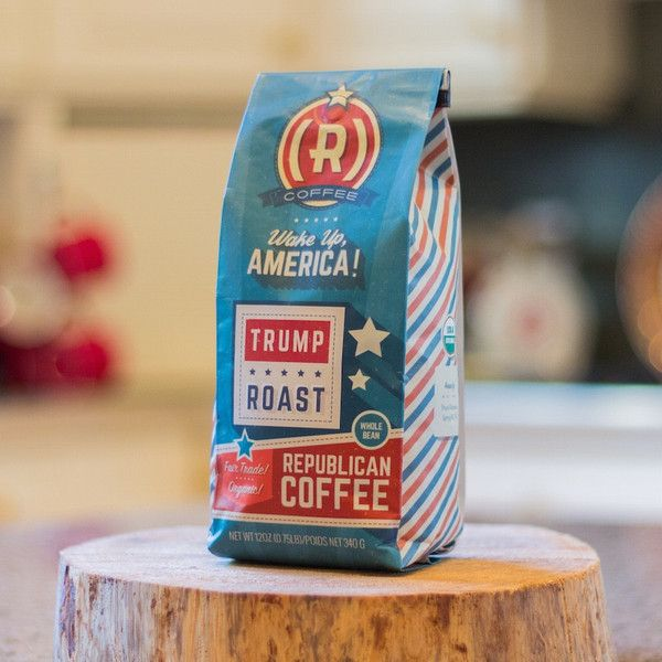 Donald Trump Roast: Celebrate the last candidate standing! Fabulous 100% organic Honduran roast with a light, bold flavor delivered straight to your mug.
