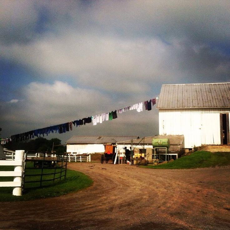 649 Best Amish Clothes Lines Images On Pinterest