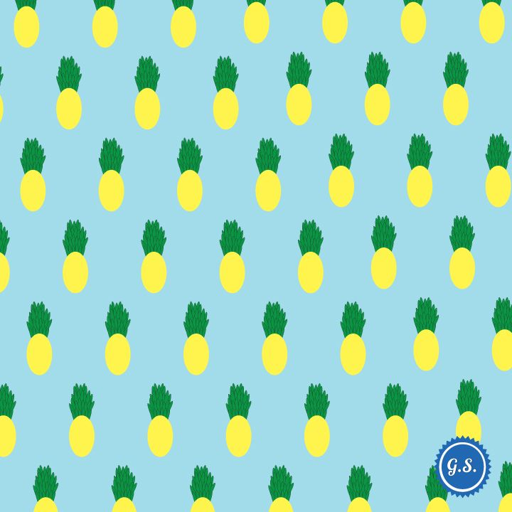 Pinapple Pattern giannissofianakos.tumblr.com #pattern #graphic_design