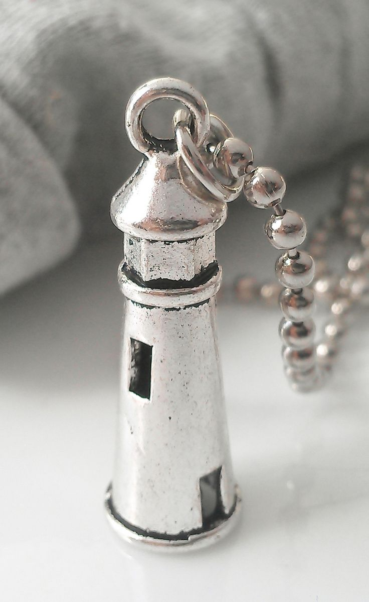 Lighthouse Nautical Necklace https://www.etsy.com/shop/ArtDesignShop