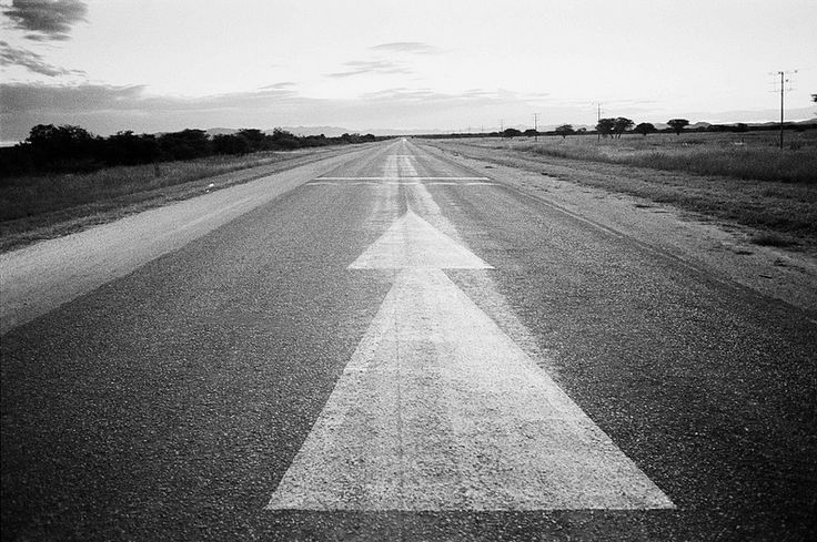 The road to Rundu | Emergency runway outside Grootfontein on… | Flickr - Photo Sharing!