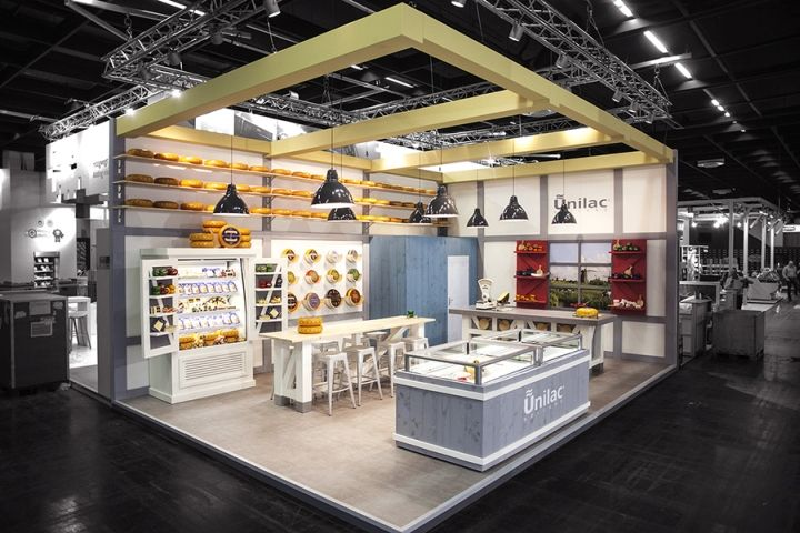Expo Stands Interior Office 2016 : Unilac stand by studiomfd at anuga cologne germany