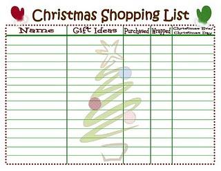 Printable Christmas Shopping List: Christmas Shopping List, Christmas List, Shopping Lists, Christmas Gift, Christmas Ideas, Printable Christmas, Merry Christmas