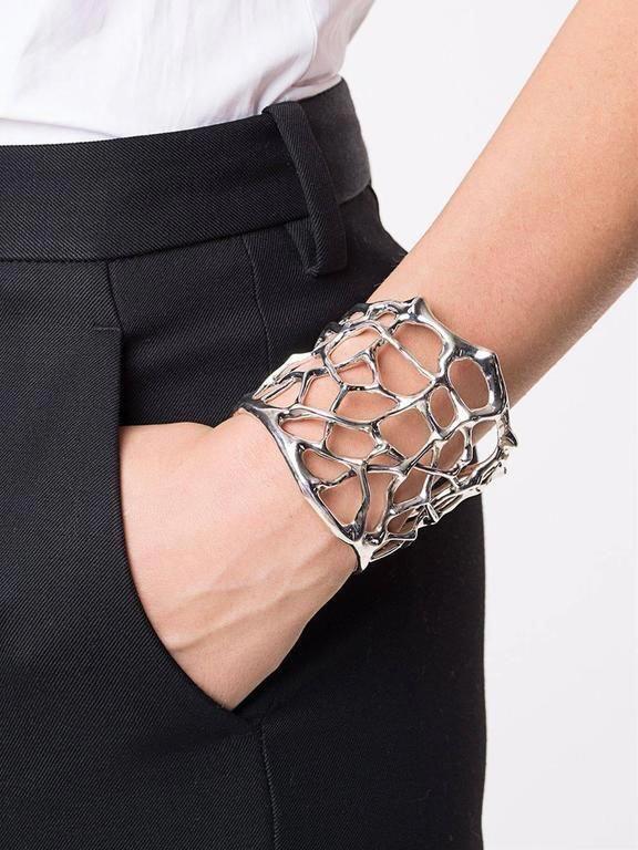 Thorn Small Silver Cuff Bracelet 2 #silverrings
