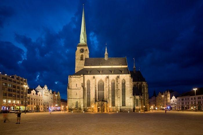 Cathedral of St. Bartholomew  (http://www.pilsen.eu/tourist/)