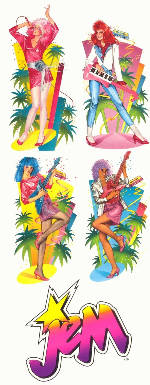 Jem is truly outrageous!✨