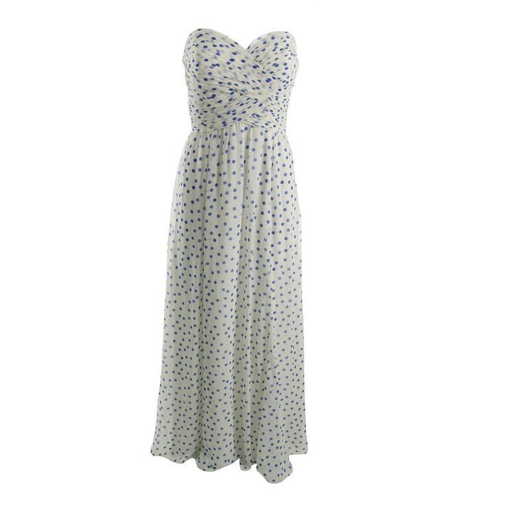 Awesome Amazing Lauren Ralph Lauren 8515 Womens Strapless Maxi Polka Dot Evening Dress BHFO 2017/2018 Check more at http://shop24.gq/fashion/amazing-lauren-ralph-lauren-8515-womens-strapless-maxi-polka-dot-evening-dress-bhfo-20172018/