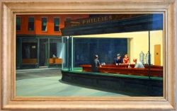 Edward Hopper paintings are probably the most misunderstood among those of well-known and much loved artists, a pretty miserable guy who both...
