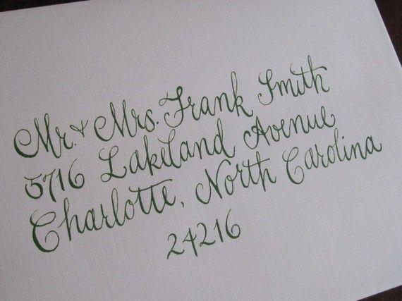 Free wedding invitation address fonts