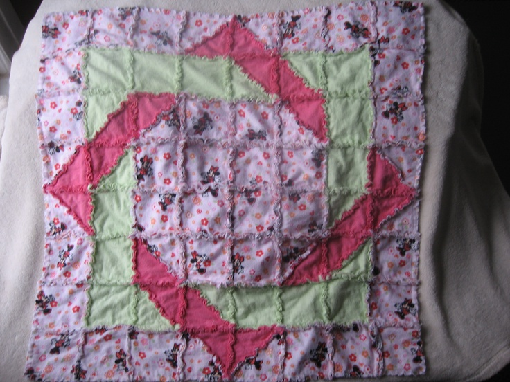 rag quilt instructions with pictures