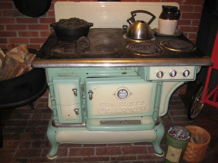 Vintage Electric Stoves ~ Images about antique cookstoves on pinterest stove