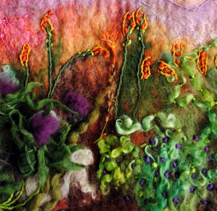 Healy Burke Textile Art Original Fine Art Felt Gallery