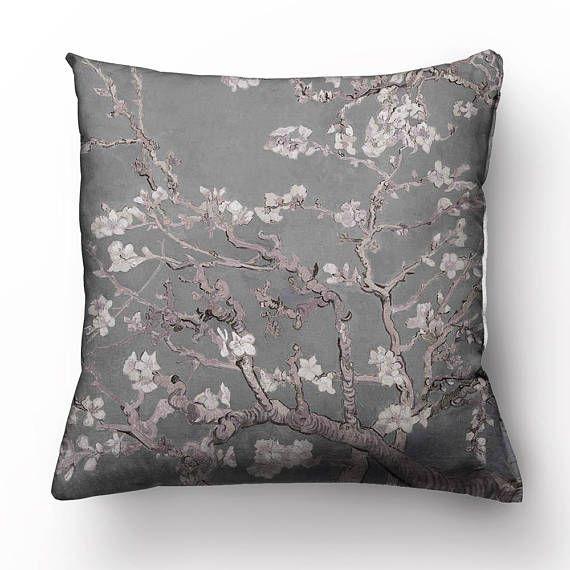 Van Gogh Decorative Pillow Covers Almond Blossom Throw Cushion Case