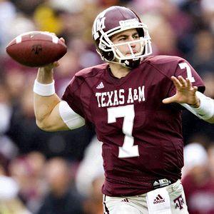 Stephen Mcgee# 7 Texas A & M Aggies QB