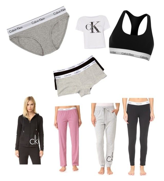 """Calvin Klein"" by emiliesevel on Polyvore featuring Calvin Klein Underwear and Calvin Klein"